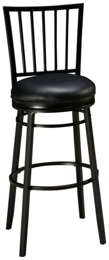 American Heritage Billiards Easton Swivel Bar Stool