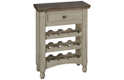 International Furniture Direct Stone 1 Drawer Bar Server