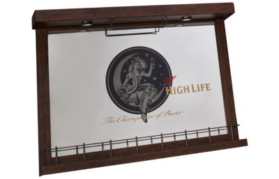 East Coast Innovators Miller High Life Wall Bar Mirror