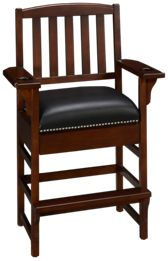 American Heritage Billiards Camden King Chair