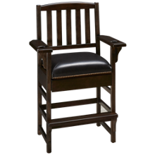 American Heritage Billiards King Chair