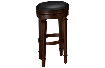 American Heritage Billiards Camden Accents Swivel Bar Stool