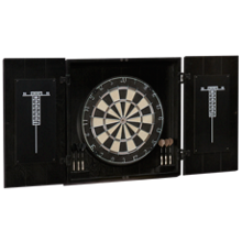 American Heritage Billiards Vienna Dartboard And Cabinet