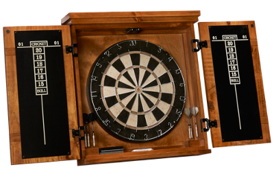American Heritage Billiards Gateway Dartboard And Cabinet