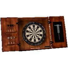 American Heritage Billiards Wright Dartboard And Cabinet