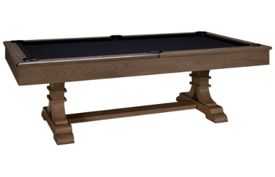 American Heritage Billiards Topeka Pool Table with Designer Accessory Kit