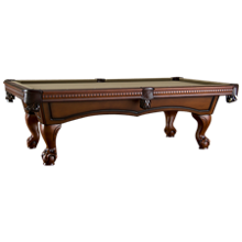 American Heritage Billiards Artero 8' Pool Table with Designer Accessory Kit