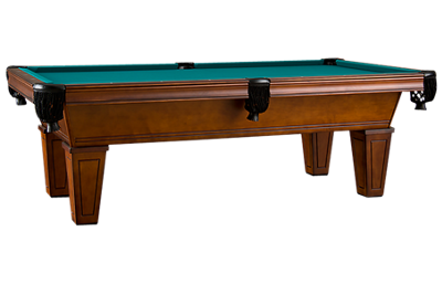 American Heritage Billiards Avon 8' Pool Table with Designer Accessory Kit