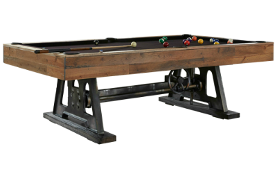 American Heritage Billiards Da Vinci 8' Pool Table with Designer Accessory Kit