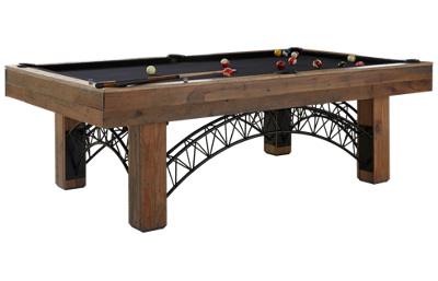 American Heritage Billiards Gateway 8' Pool Table with Designer Accessory Kit