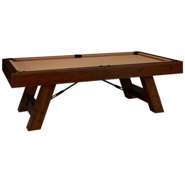 American Heritage Billiards Savannah 8 Pool Table With Designer Accessory Kit