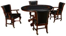 American Heritage Billiards Full House 5 Piece Game Table Set