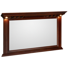 American Heritage Billiards Riviera Mirror and Moulding