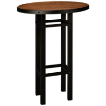American Heritage Billiards Gateway Round Pub Table