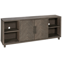 "Martin Furniture Palisades 80"" 2 Door Console"