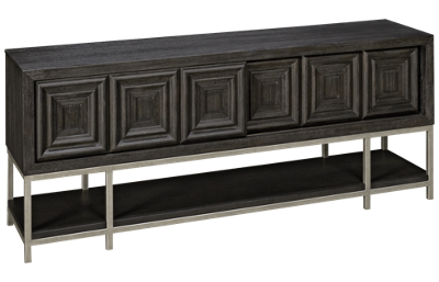 Klaussner Home Furnishings City Limits Sliding Door Console