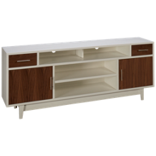 "Legends Furniture Draper Sterl 80"" Console"