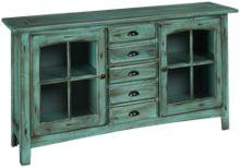 """Oak Furniture West Yorktown 64"""" Console"""