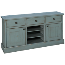 "Oak Furniture West Sierra 64"" Console"