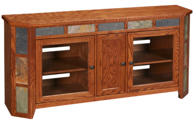"Legends Furniture Mason 62"" Angled Console"