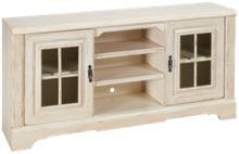 Oak Furniture West Antique White Console