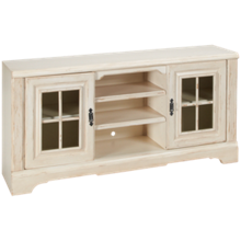 Oak Furniture West Antique White Console