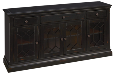 "Oak Furniture West Prisma 66"" Console"