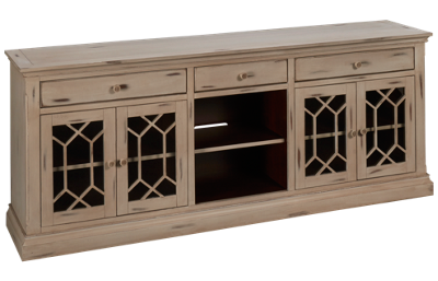 "Oak Furniture West Prisma 80"" Console"