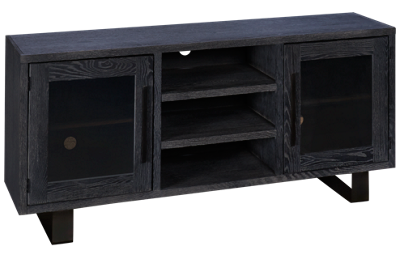 "Aspen Cityscape 65"" Console with 2 Doors"