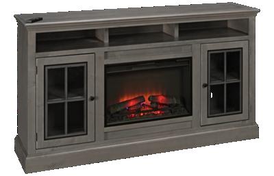 """Aspen Churchill 70"""" 2 Door Fireplace Console"""