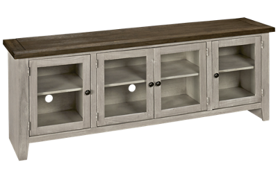 "Aspen Eastport 74"" Console with 4 Doors"