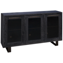 "Aspen Cityscape 67"" Highboy Console with 3 Doors"