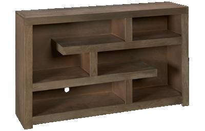 "Aspen Contemporary Driftwood 60"" Open Console"