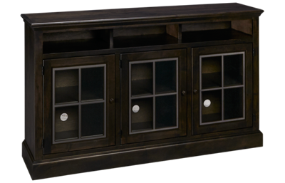 "Aspen Churchill 66"" Highboy Console With 3 Doors"