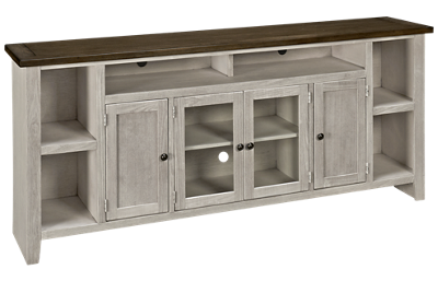 "Aspen Eastport 84"" Console with 4 Doors"