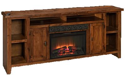 """Aspen Alder Grove 84"""" Fireplace Console"""