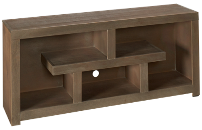 "Aspen Contemporary Driftwood 60"" Console"