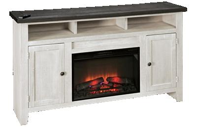 "Aspen Eastport 65"" 2 Door Fireplace Console"
