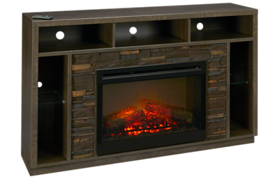 Dimplex Joseph Fireplace Media Console with Log Firebox