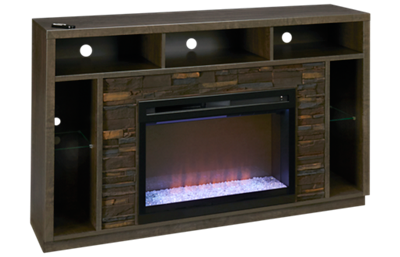 Dimplex Joseph Fireplace Media Console with Ember Firebox and LED