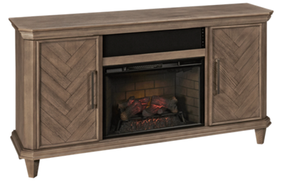 Greentouch Ridgeway Fireplace Media Console with Sound Bar