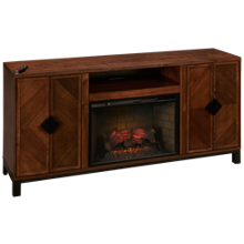 Greentouch Riverbrook Fireplace Media Console