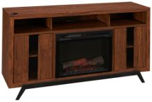 Dimplex Luna Fireplace Media Console with Logs