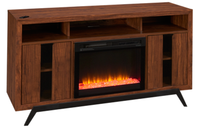 Dimplex Luna Fireplace Media Console with Embers