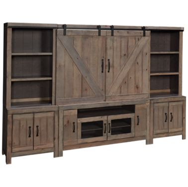 Oak Furniture West Devonshire 5 Piece Entertainment Center Product Image Unavailable