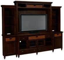Magnussen Cottage Lane 4 Piece Entertainment Center