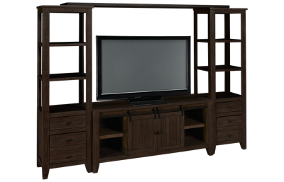 Jofran Madison County 4 Piece Media Unit