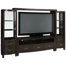 Jofran Scarsdale 4 Piece Entertainment Center