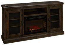 Dimplex Ashton Fireplace Media Console with Log Firebox