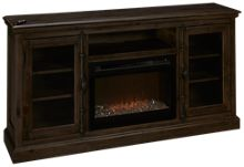 Dimplex Ashton Fireplace Media Console with Ember Firebox